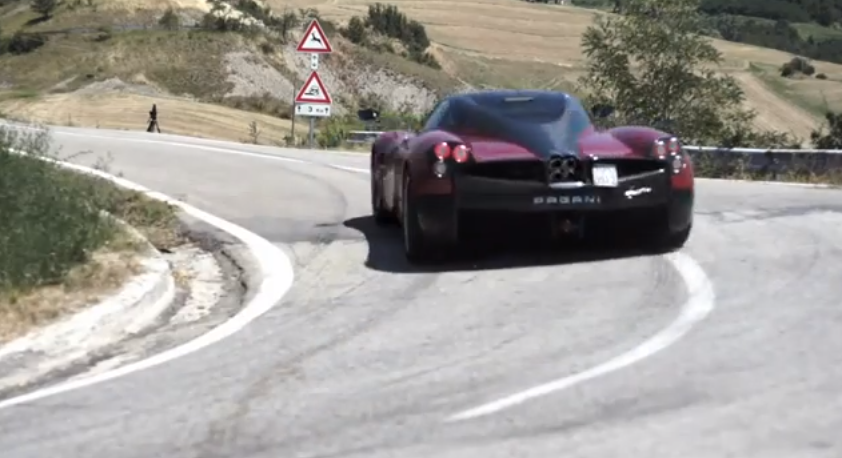 Pagani Huayra: Test Drive in Italy • Club GT Events